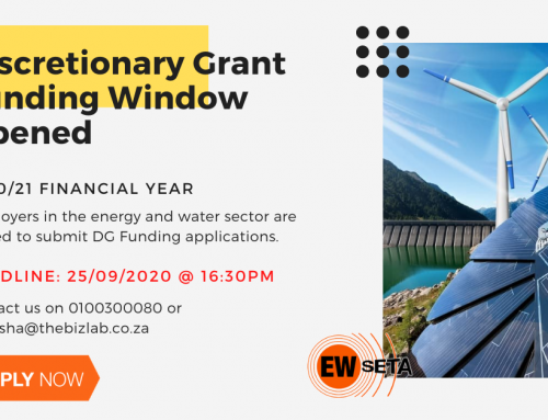 Apply for EWSETA – DISCRETIONARY FUNDING GRANT
