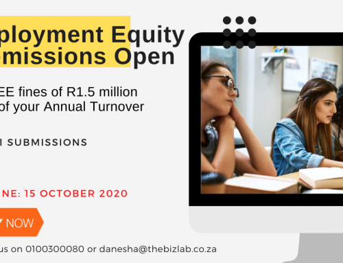 Submit your Eemployment Equity Report – Deadline 15 October 2020