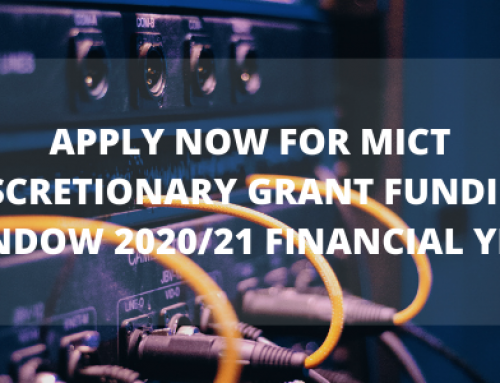 Apply for MICT – DISCRETIONARY GRANT FUNDING WINDOW 2020/21 FINANCIAL YEAR