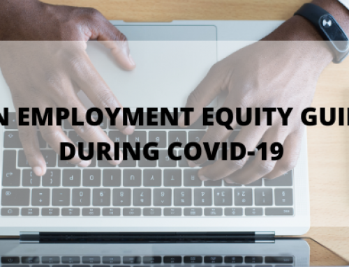 Employment Equity Guidance during COVID-19
